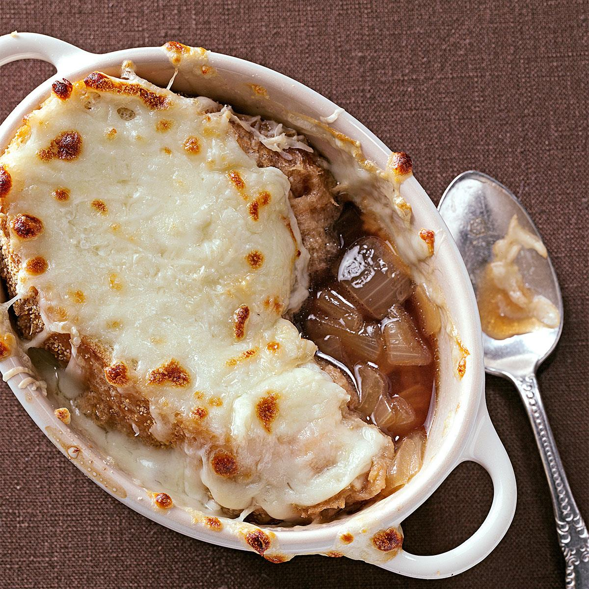 Rich French Onion Soup Recipe Taste Of Home