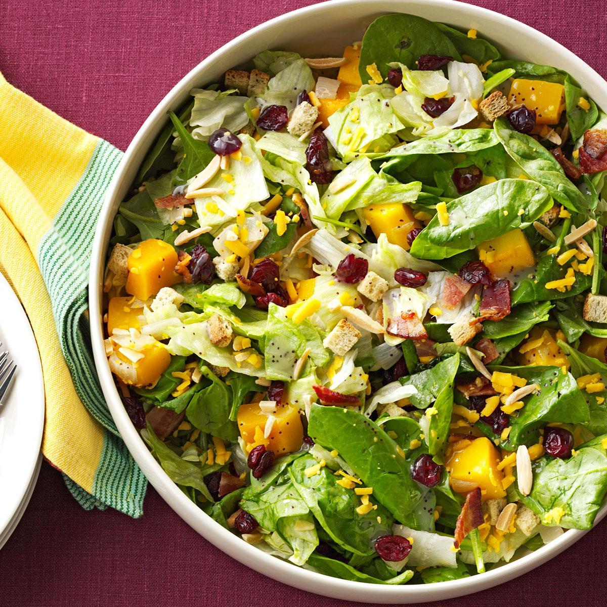 Roasted Butternut Tossed Salad