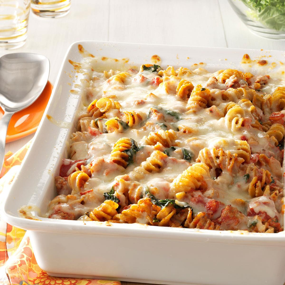 Pasta casserole. Recipe for pasta casserole with chicken and cheese in the oven 20