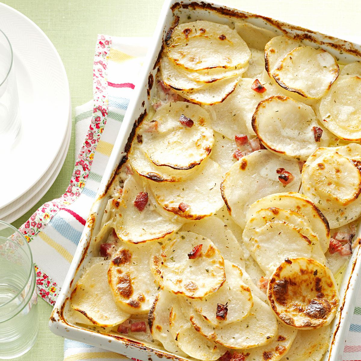 Scalloped potatoes with ham recipe taste of home forumfinder Image collections