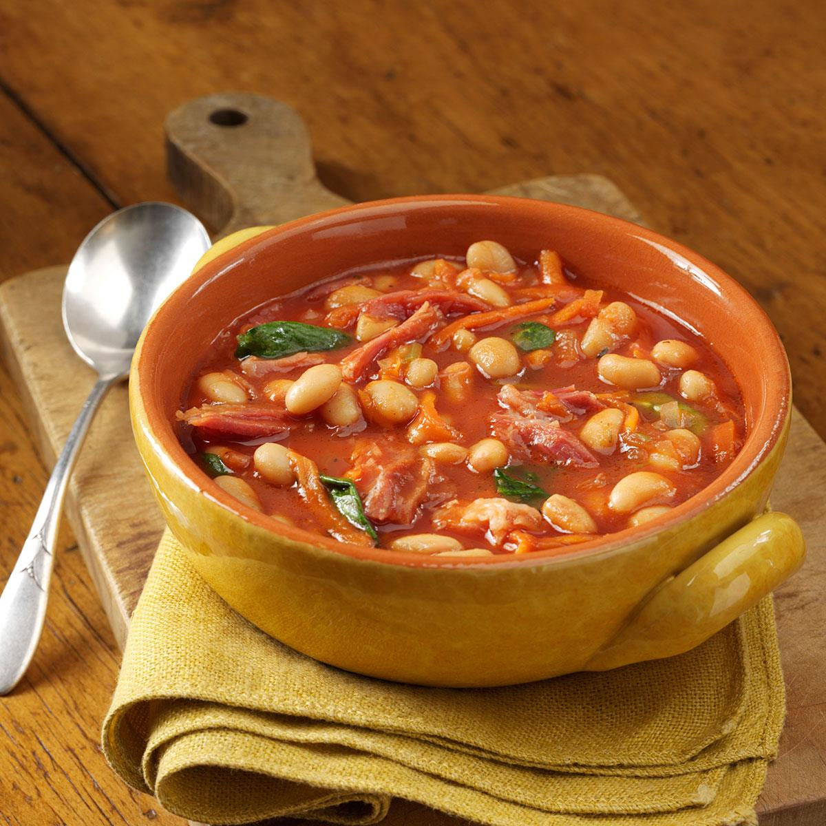 Image result for beans soup