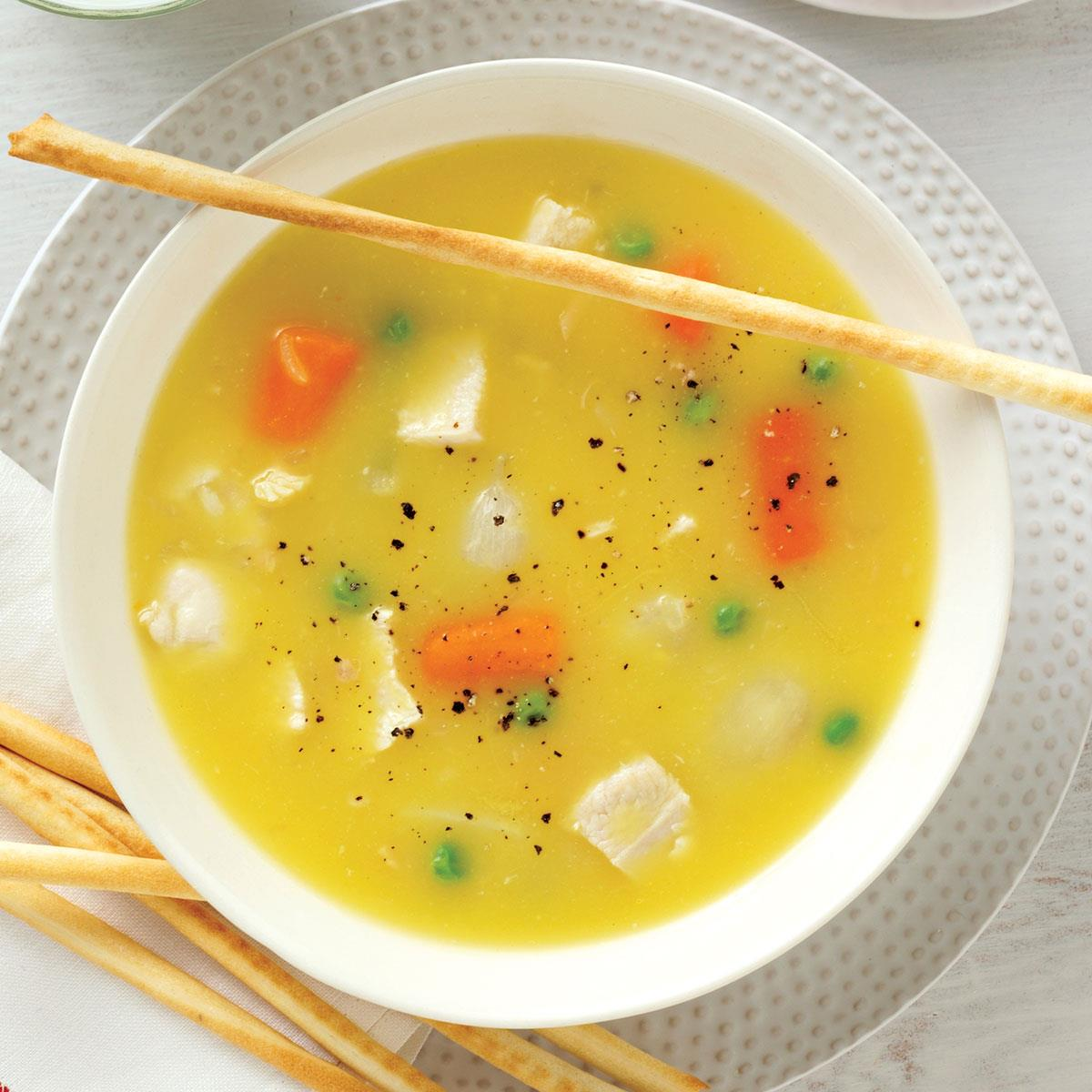 Simple chicken soup taste of home forumfinder Image collections