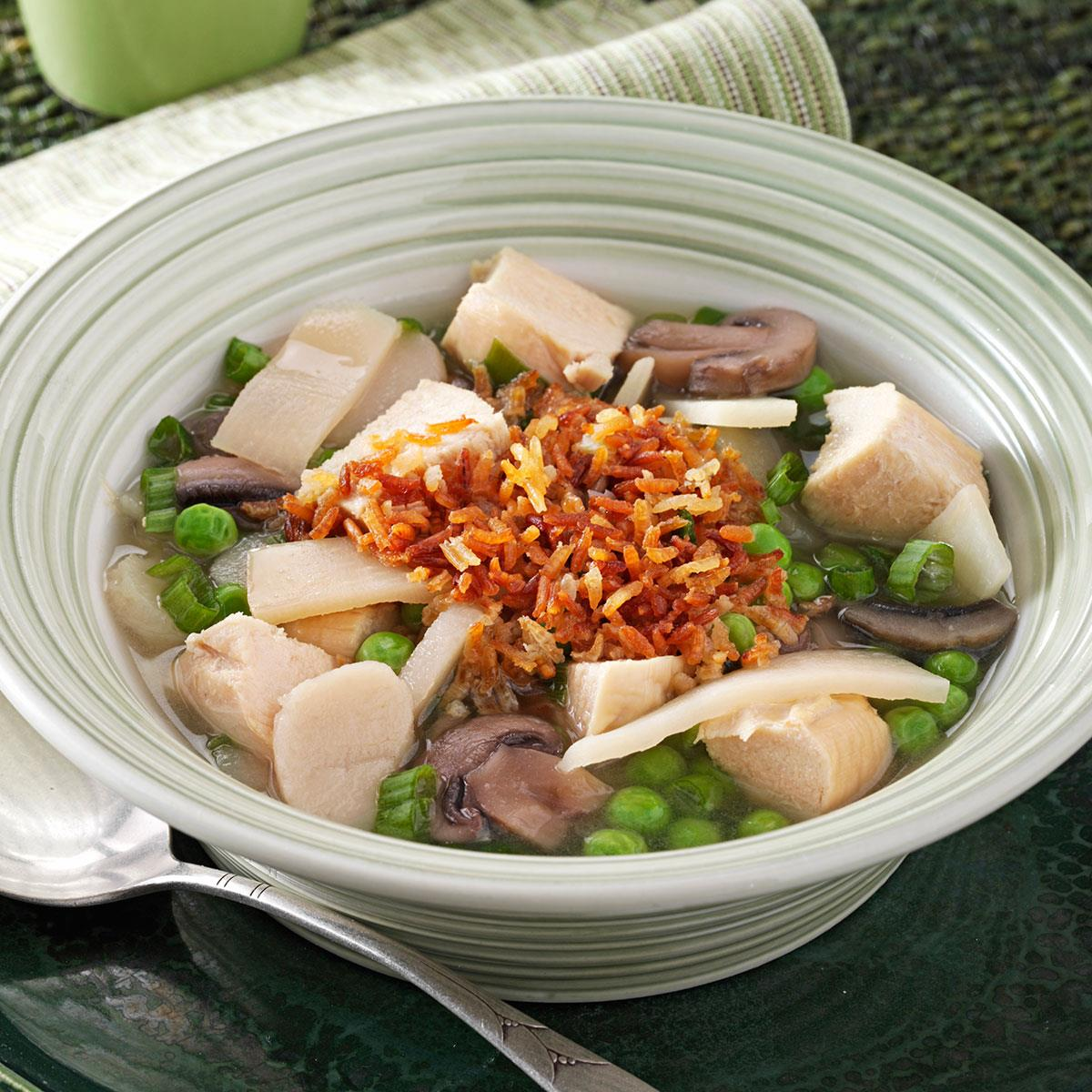 Sizzling Rice Soup Recipe Taste Of Home