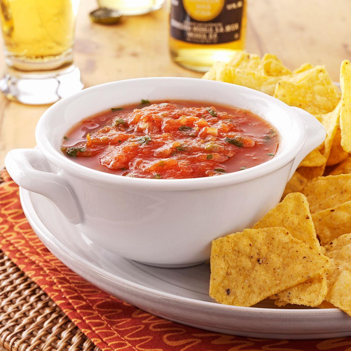 slow cooked salsa recipe taste of home