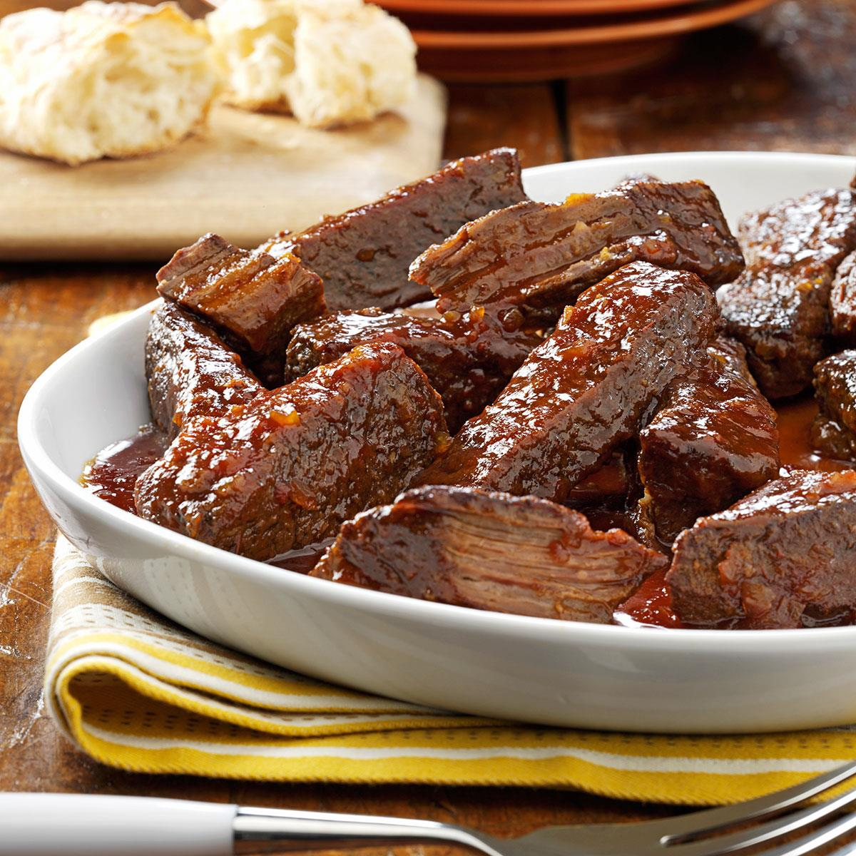 Beef ribs: a recipe for cooking in a multivariate