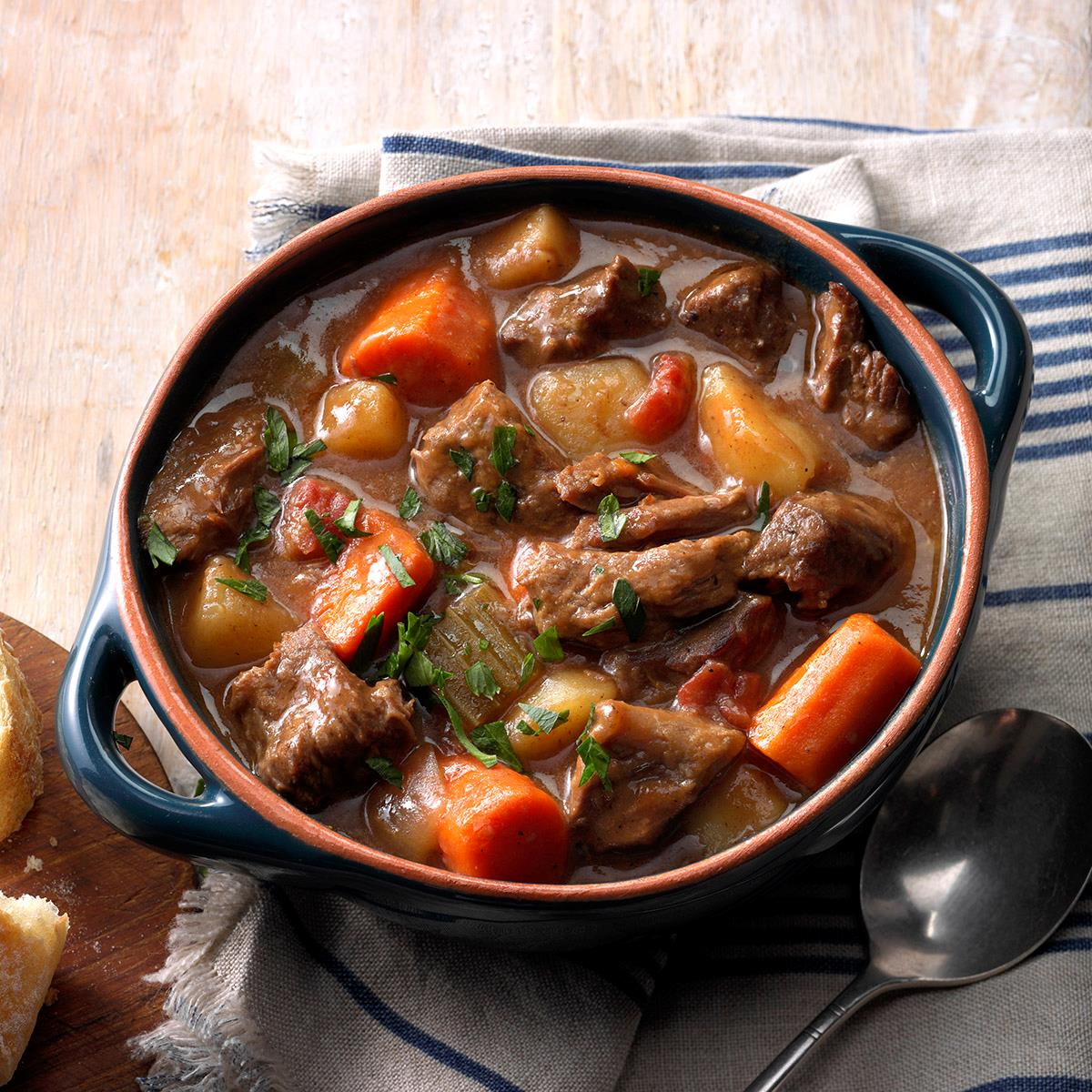How to cook beef stew at home