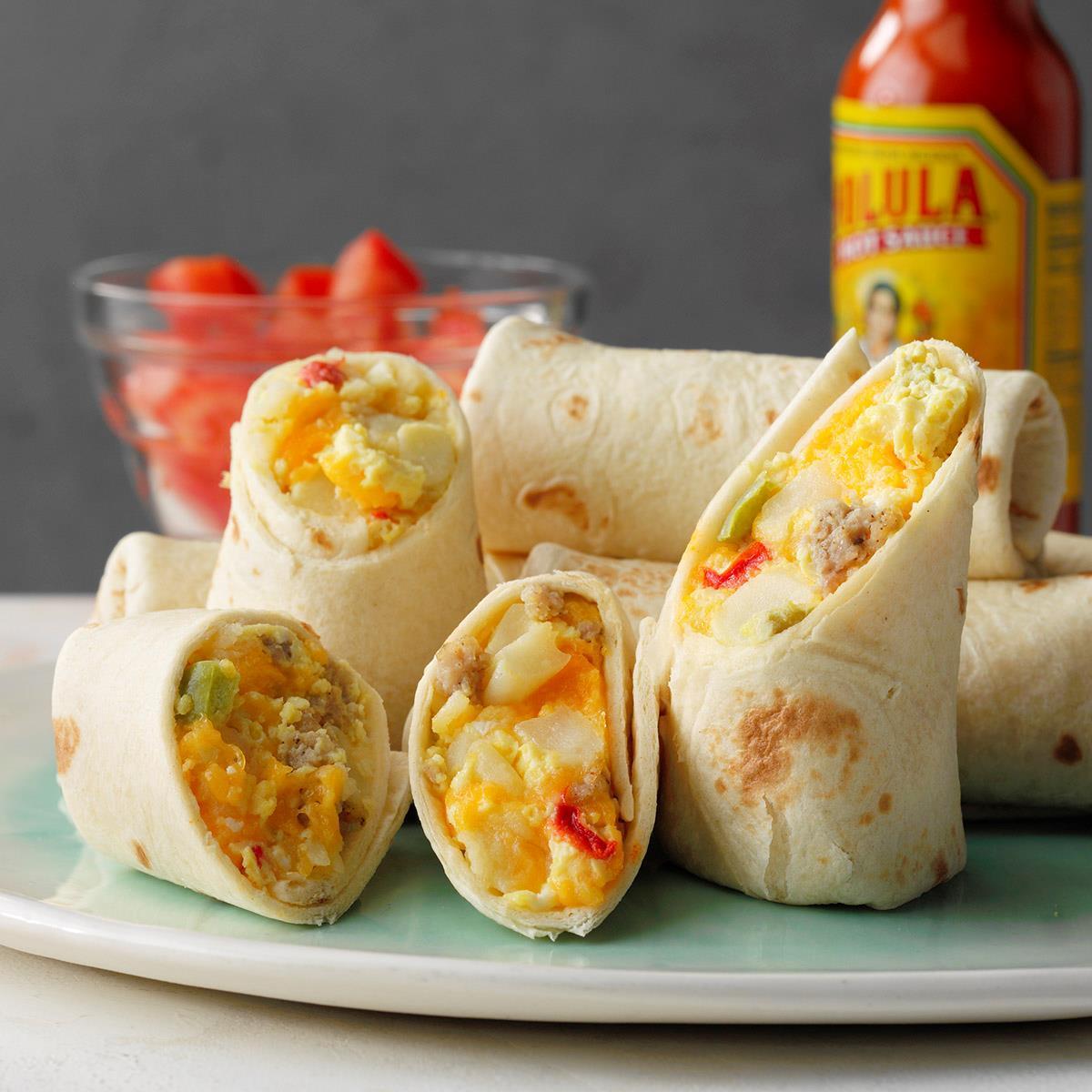 Slow-Cooker Breakfast Burritos