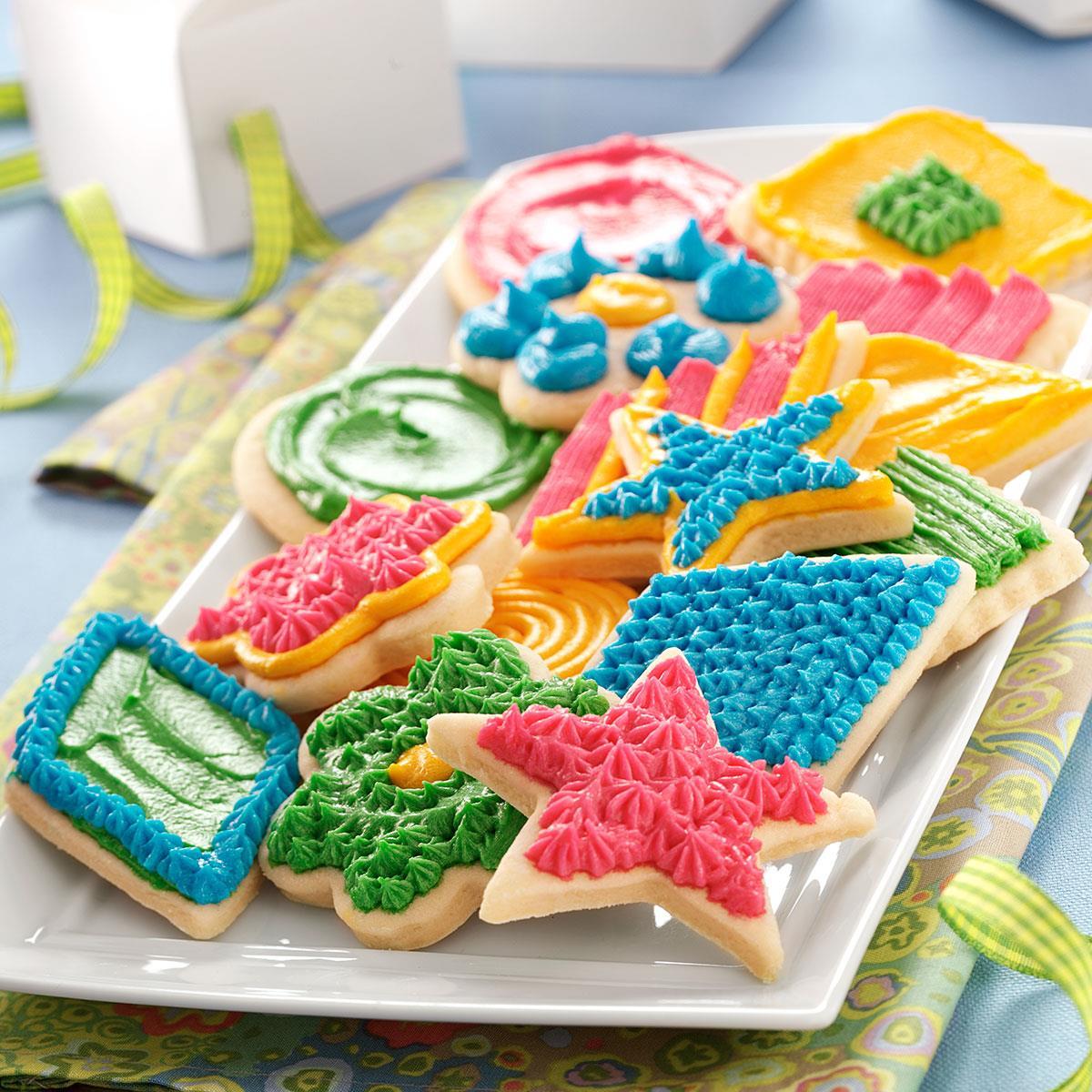 Sour Cream Sugar Cookies Recipe Taste Of Home