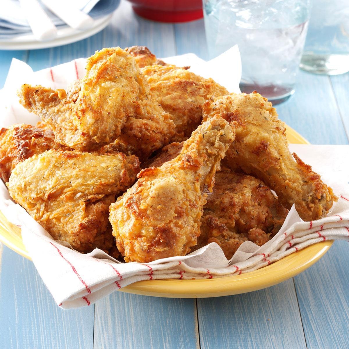 Southern Fried Chicken With Gravy Recipe Taste Of Home