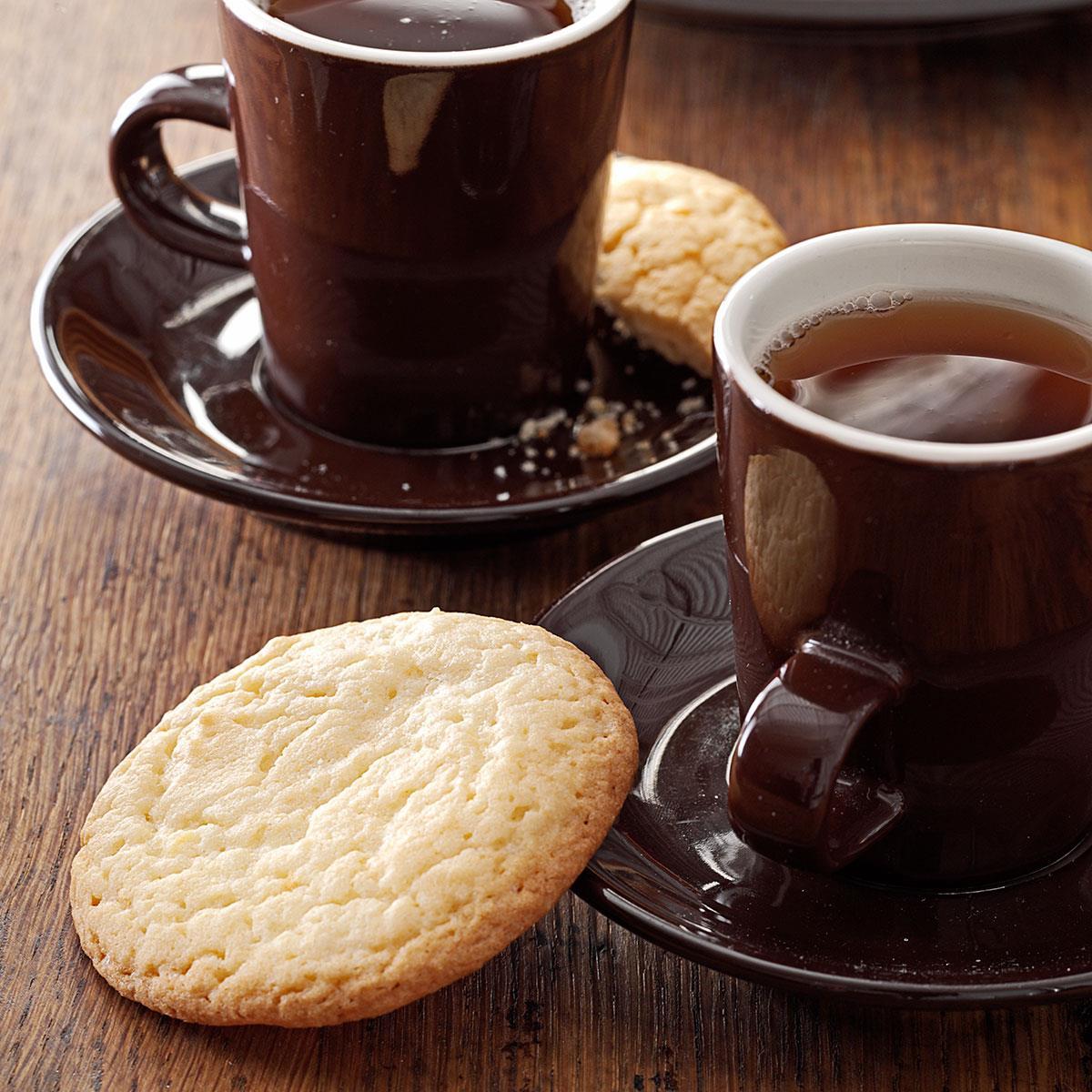 Resultado de imagen de tea with vanilla cookies