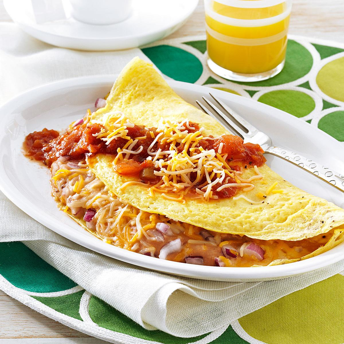 Make a delicious boiled omelette in the package