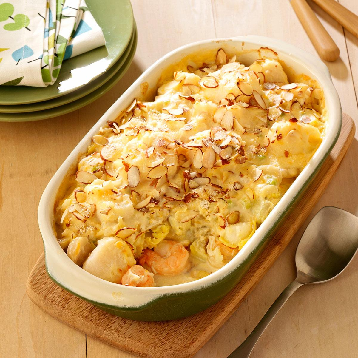 Image result for Seafood Casserole