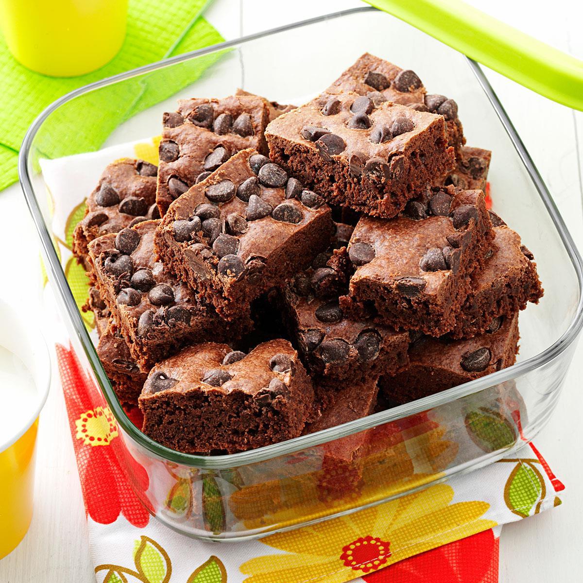 Speedy brownies recipe taste of home forumfinder Choice Image