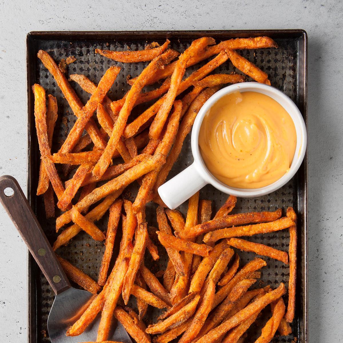 Spiced Sweet Potato Fries