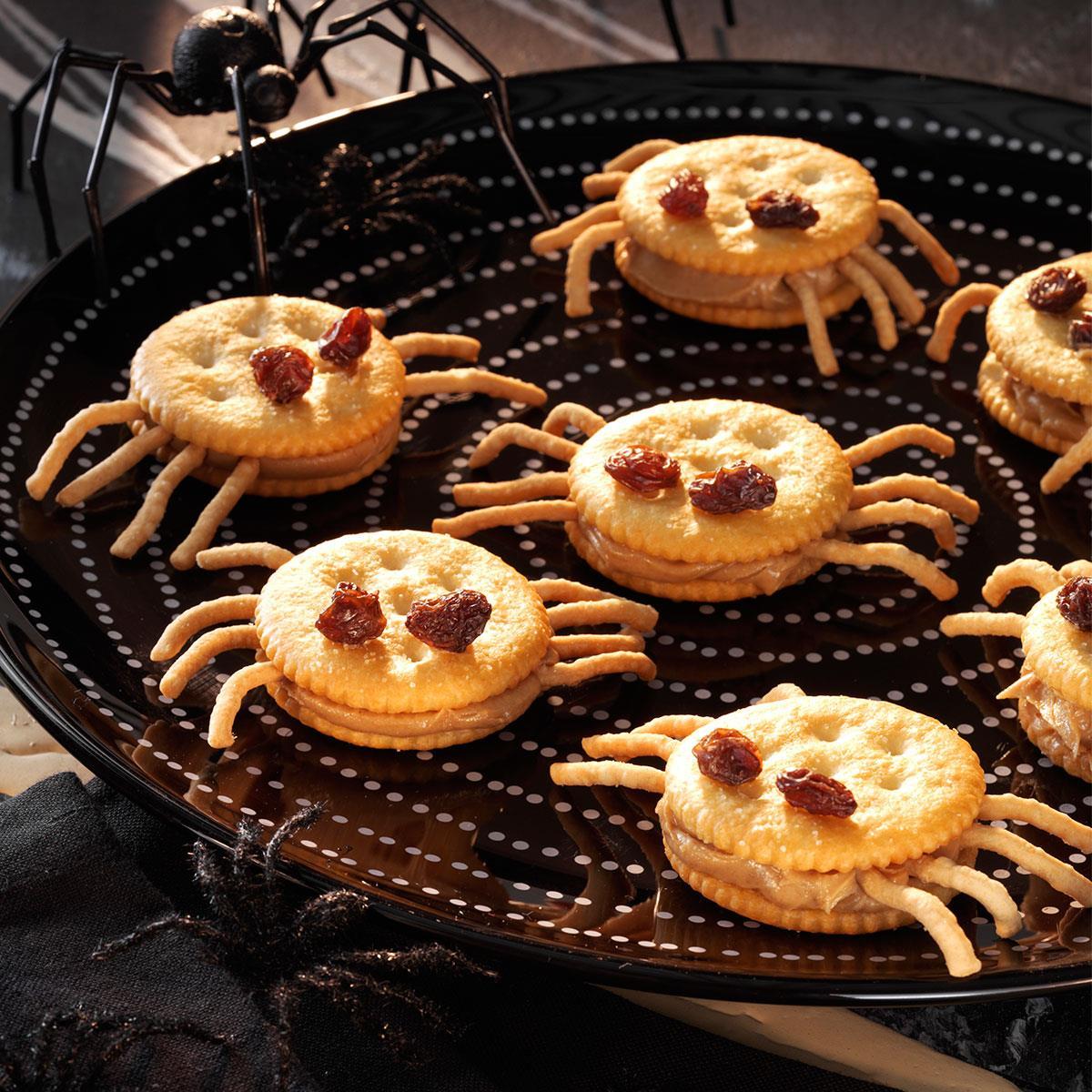 Spooky Spider Snacks Recipe Taste Of Home