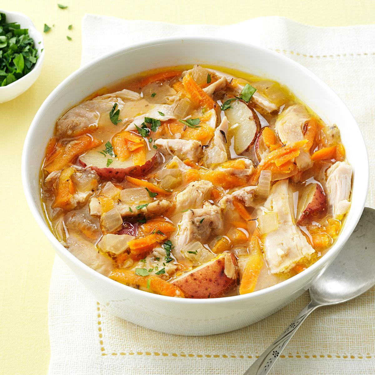 Pressure Cooker Spring-Thyme Chicken Stew