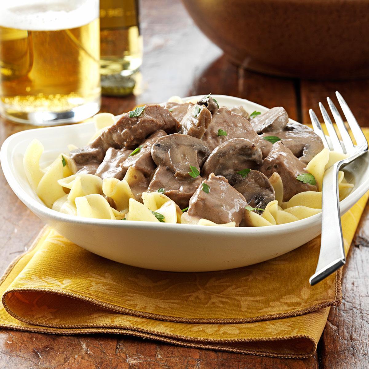 Steak stroganoff taste of home forumfinder Choice Image