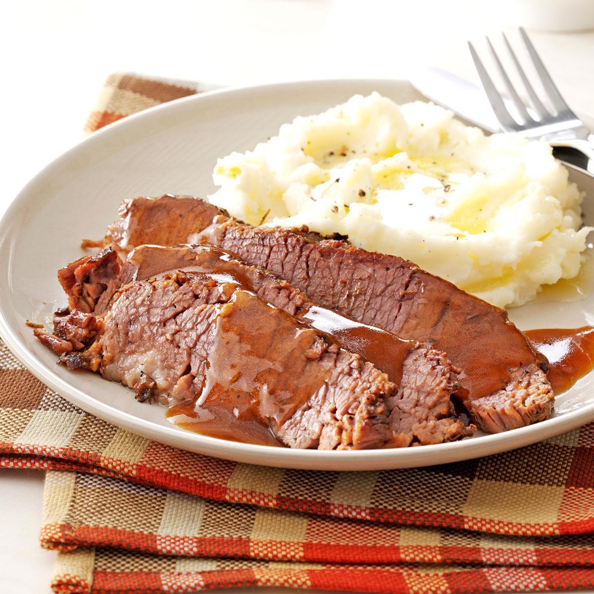Sunday Dinner Brisket Recipe