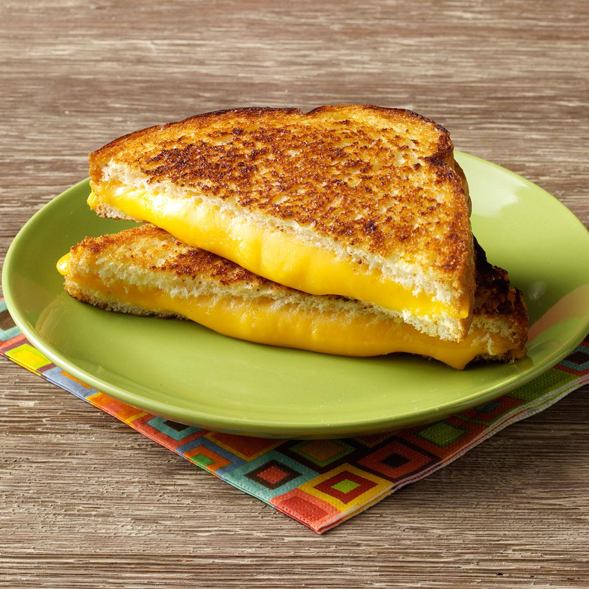 super grilled cheese sandwiches recipe taste of home