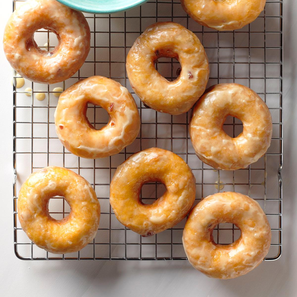 Sweet Potato-Cranberry Doughnuts