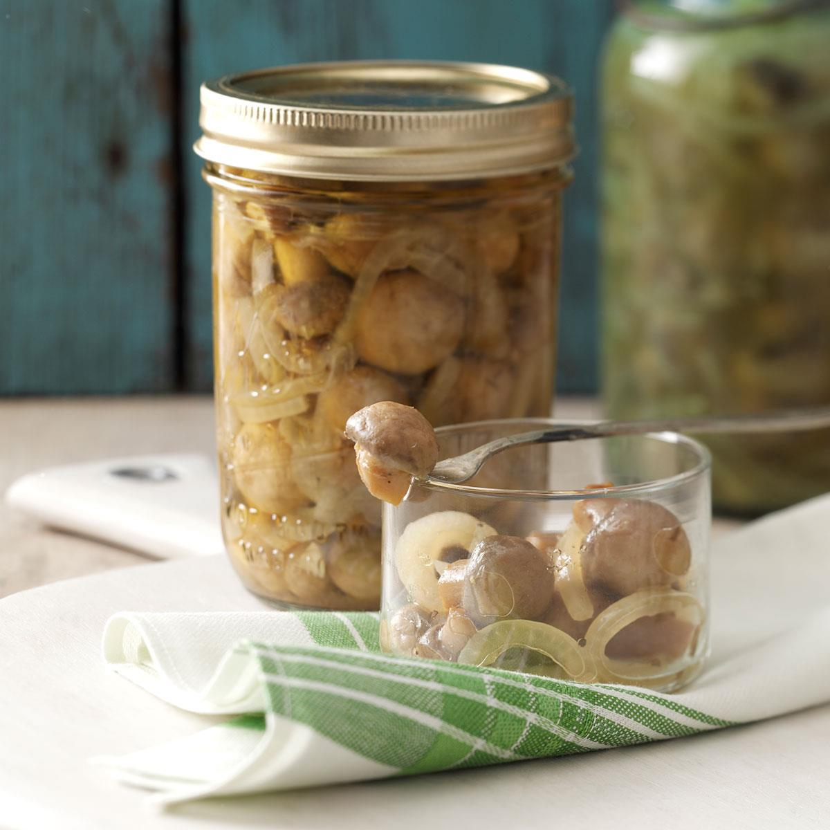 How to pickle mushrooms
