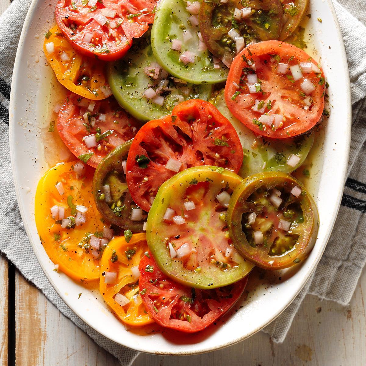 Fast Marinated Tomatoes: Recipes 49