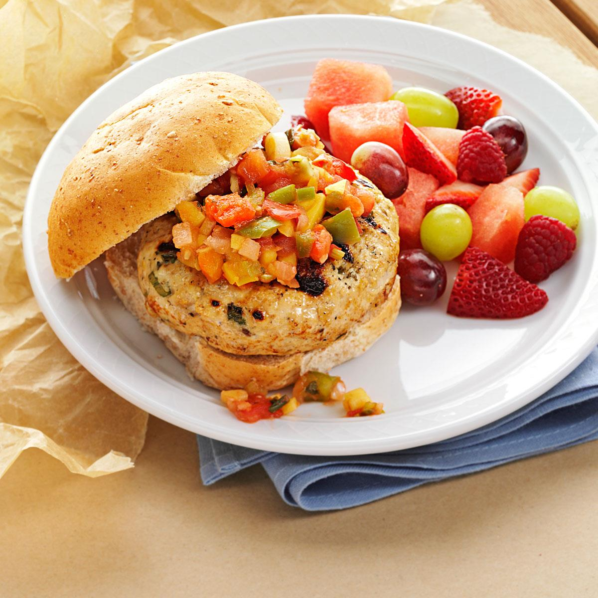 Image result for TURKEY AND SALSA