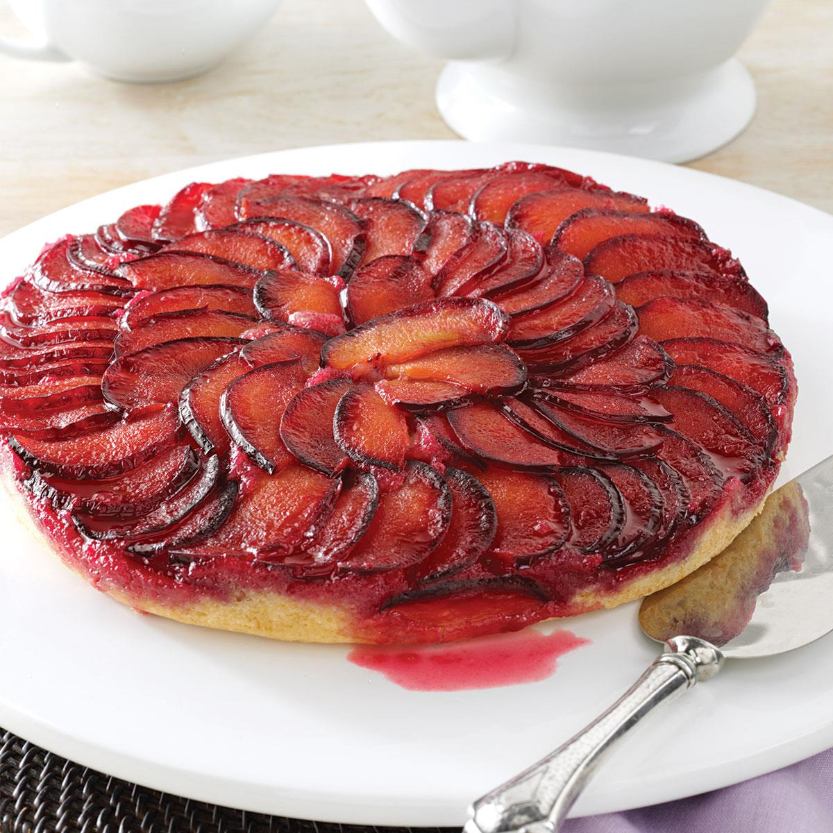 Plum Upside-Down Cake recommend