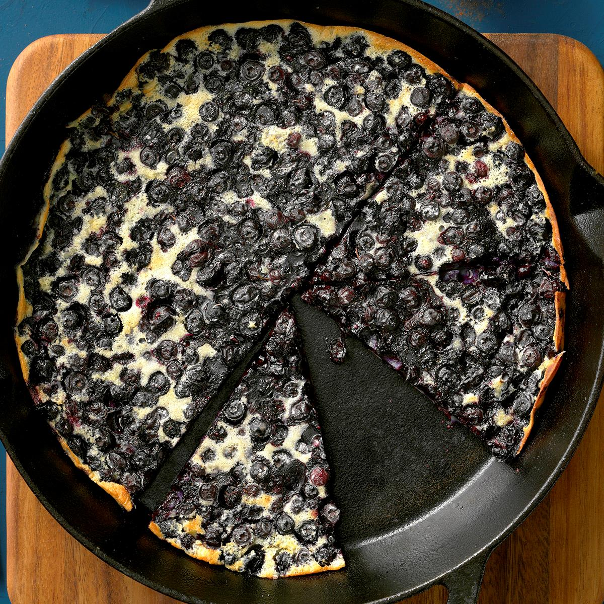 Very Blueberry Clafouti