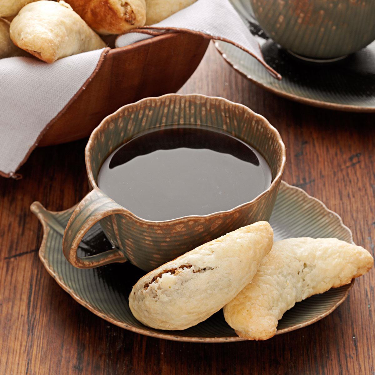 Walnut Horn Cookies