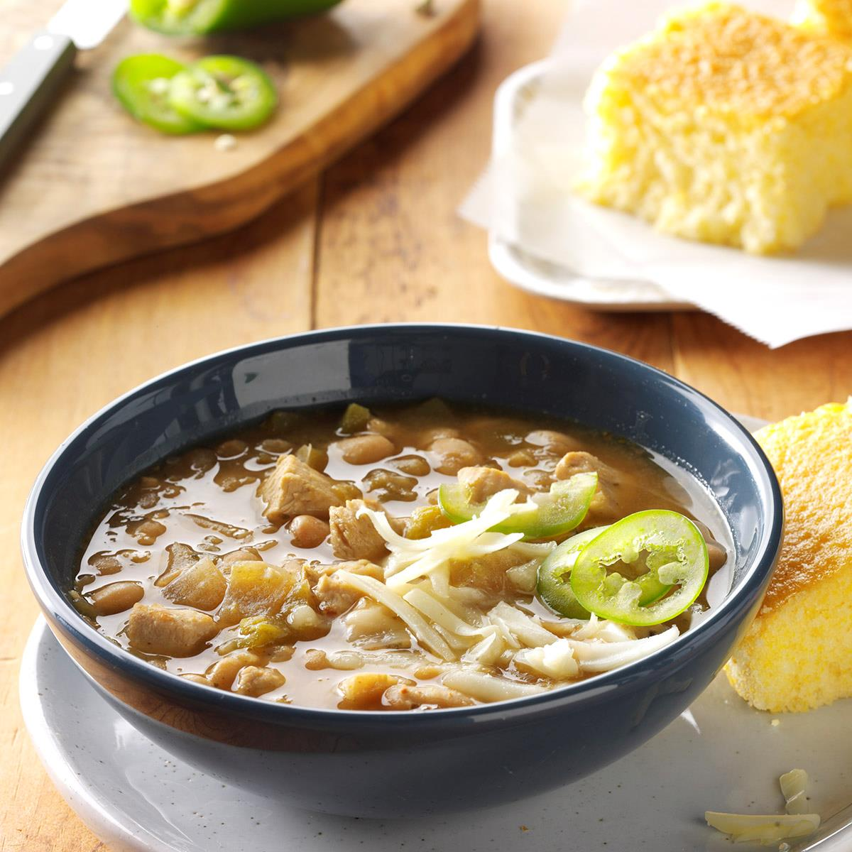 white chicken chili recipe taste of home rh tasteofhome com