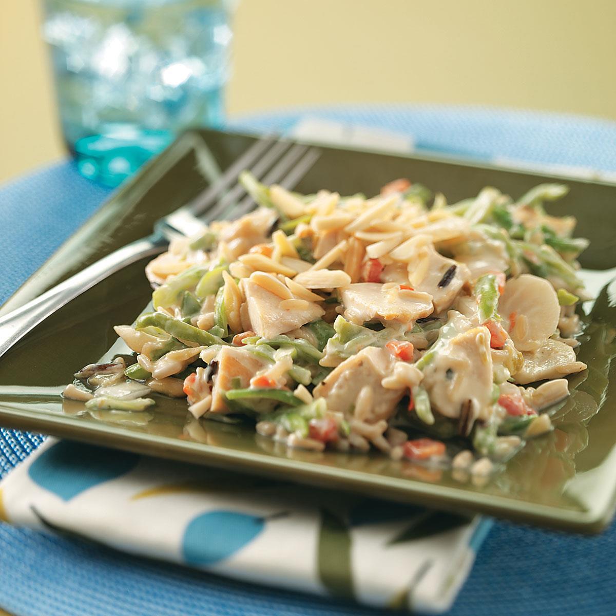 Wild rice chicken dinner recipe taste of home forumfinder Image collections