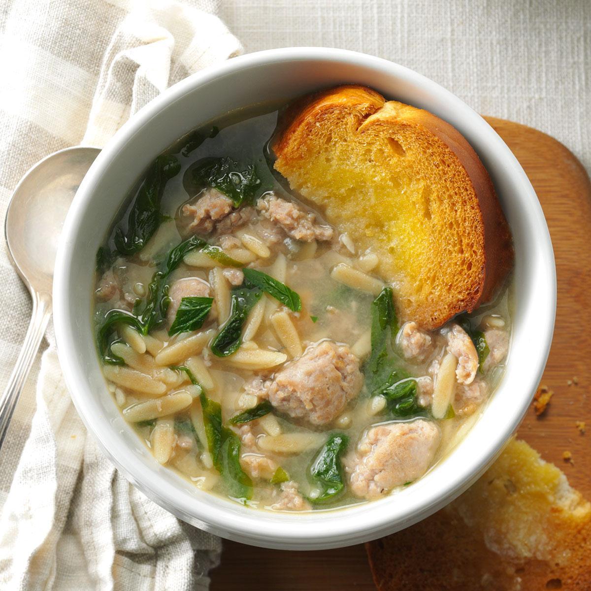 Italian Wedding Soup Recipes.Barbara S Italian Wedding Soup