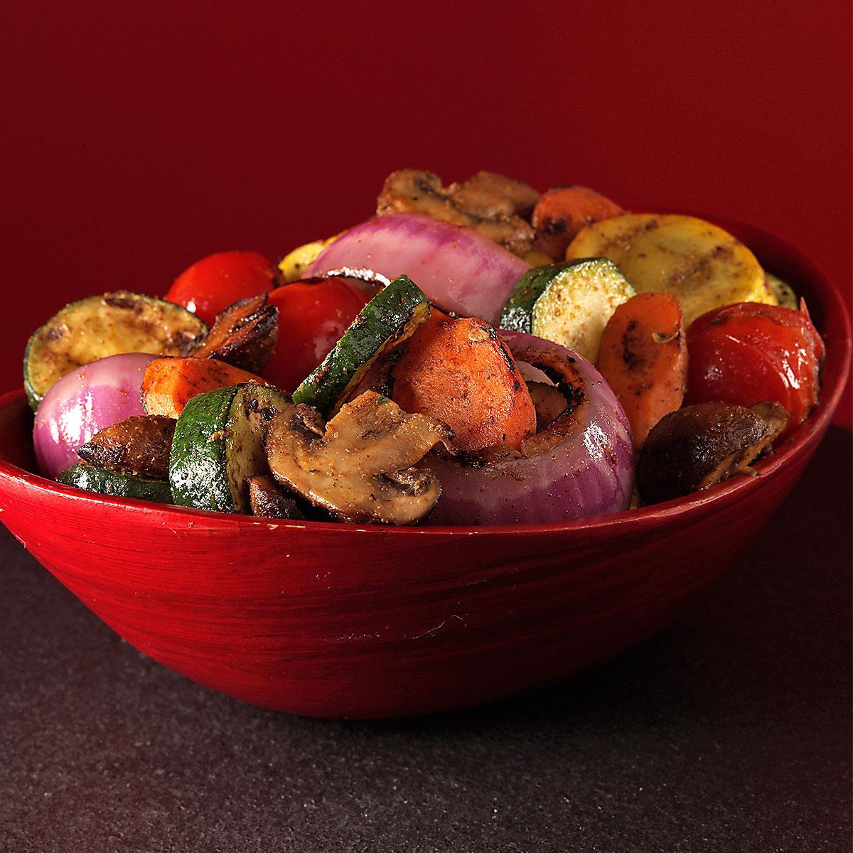 Cajun summer vegetables recipe taste of home forumfinder Images