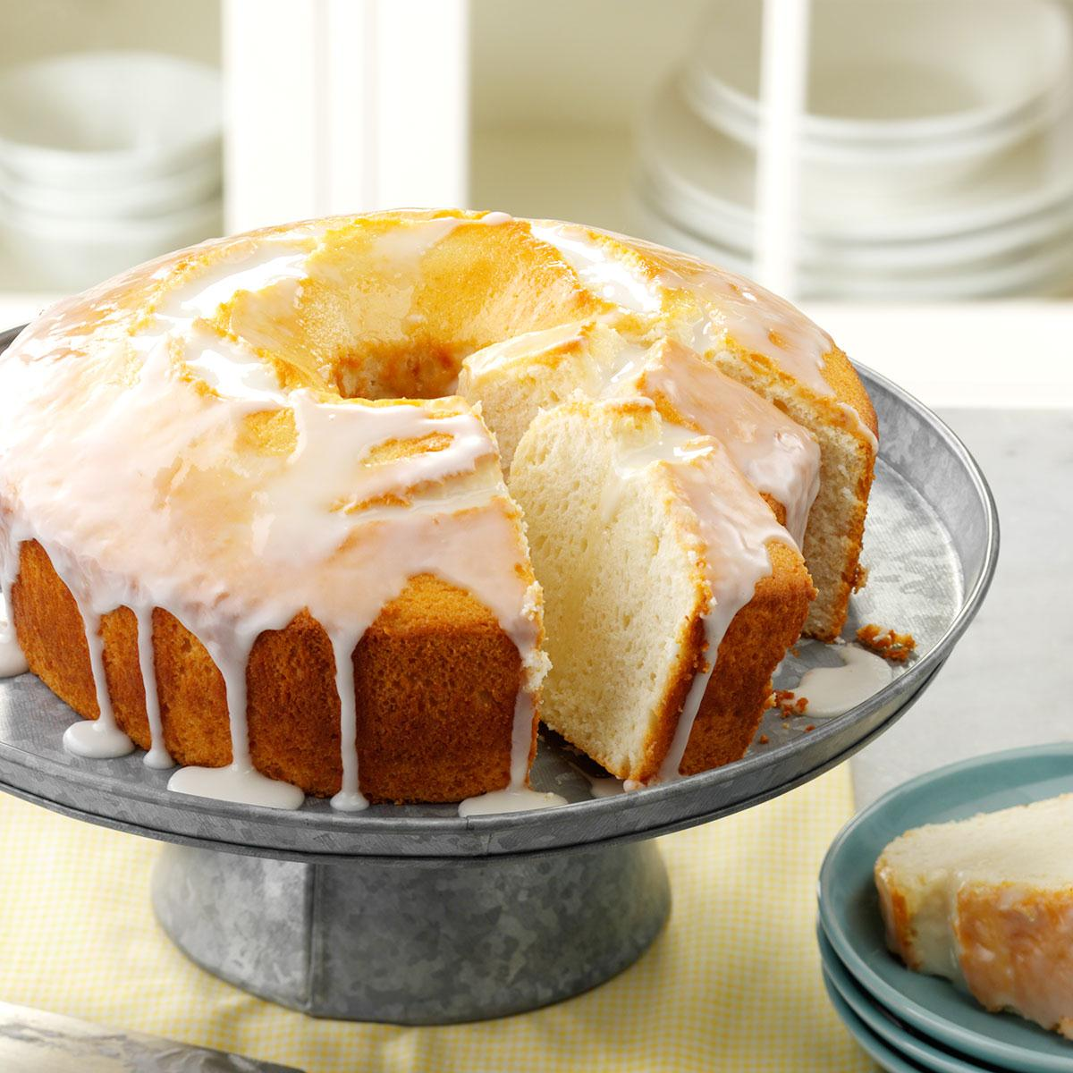 Moist Lemon Chiffon Cake Recipe