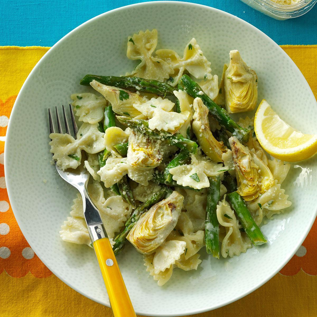 Artichoke Lemon Pasta Recipe