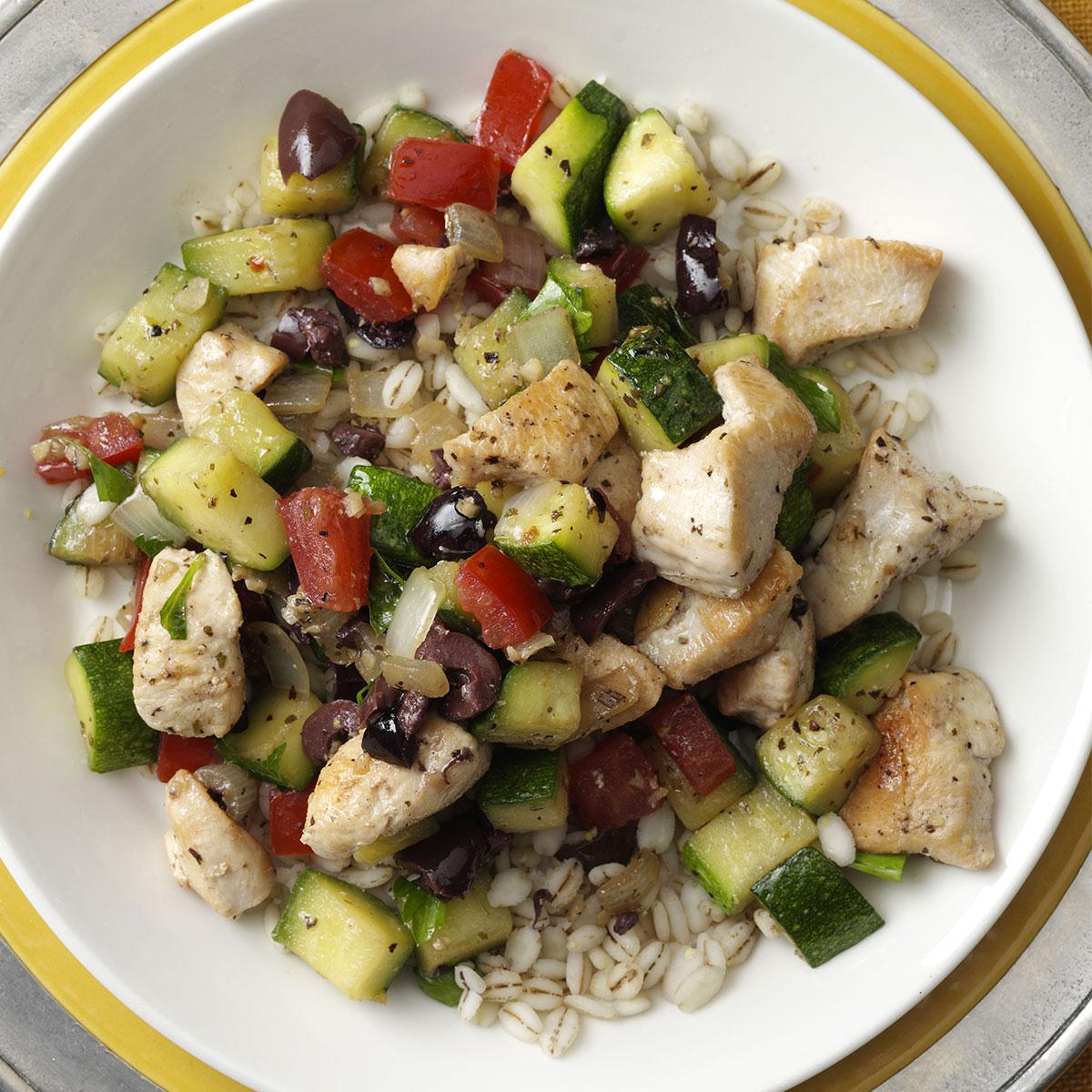 Mediterranean Chicken Stir Fry Recipe