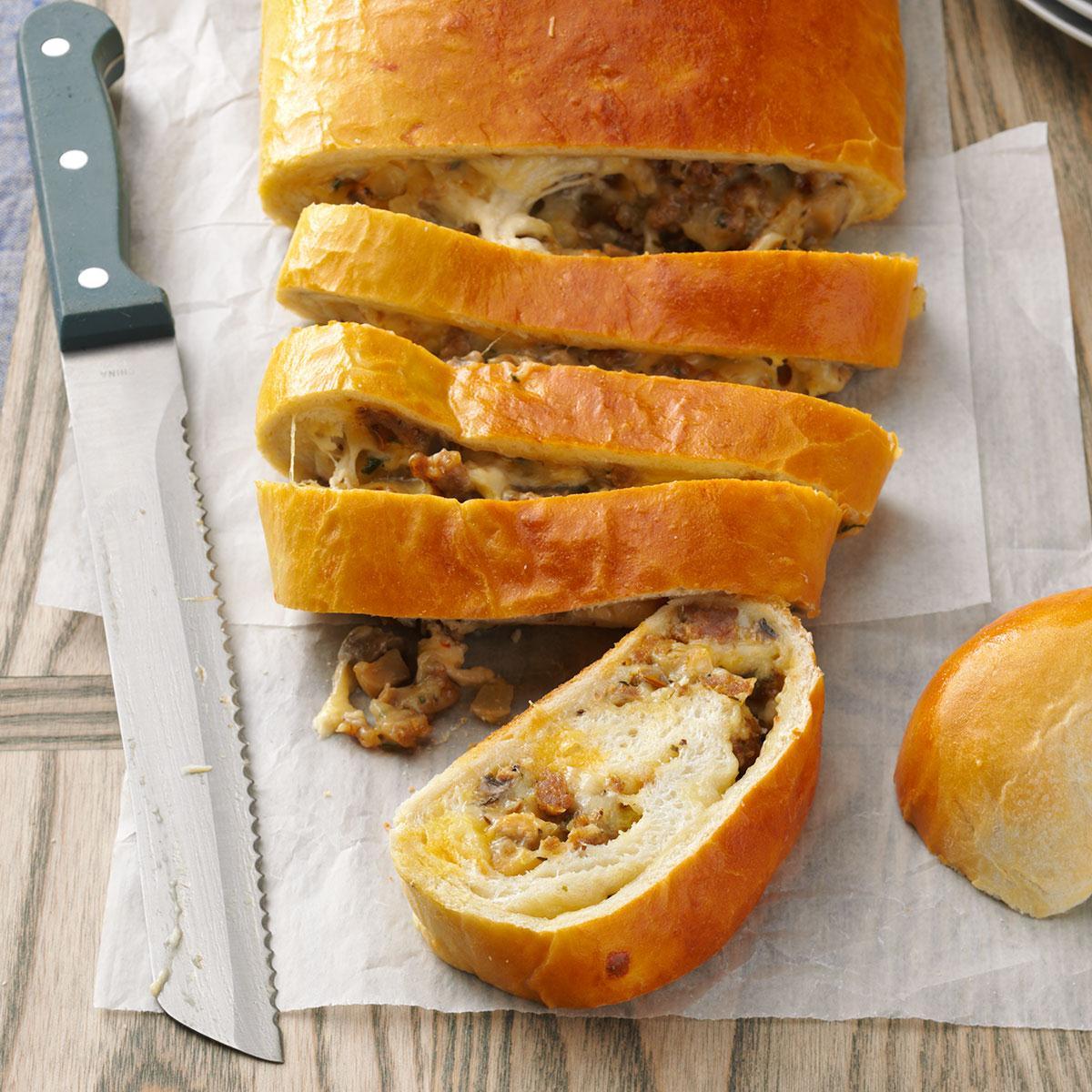 Breakfast Sausage Bread