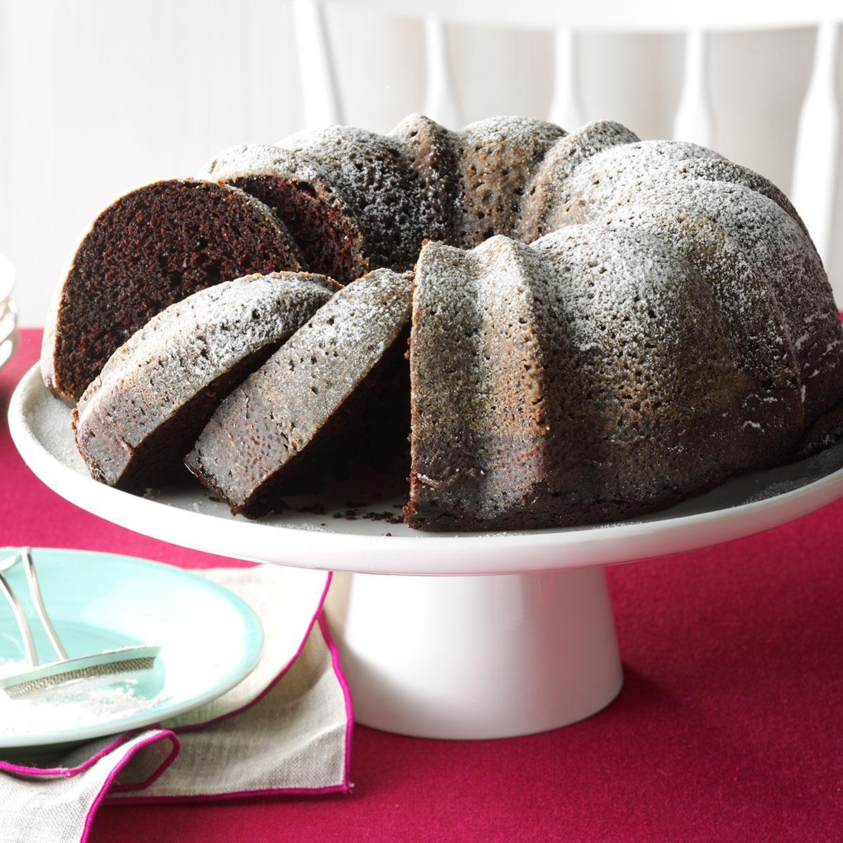Contest Winning Moist Chocolate Cake Taste of Home