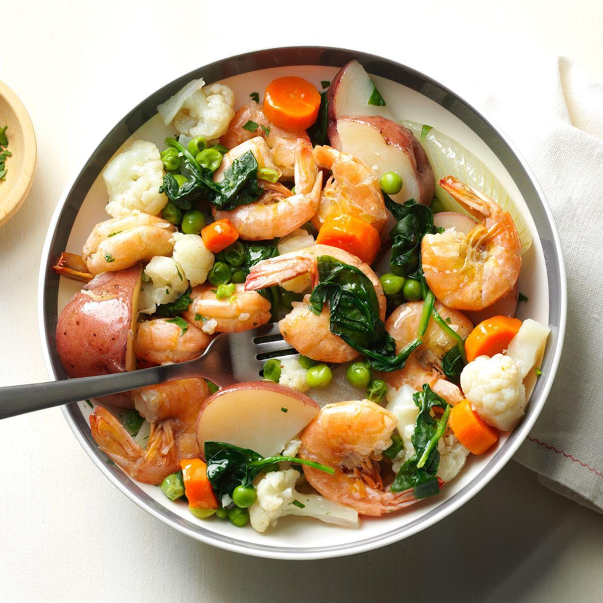 Shrimp vegetable boil recipe taste of home forumfinder Gallery