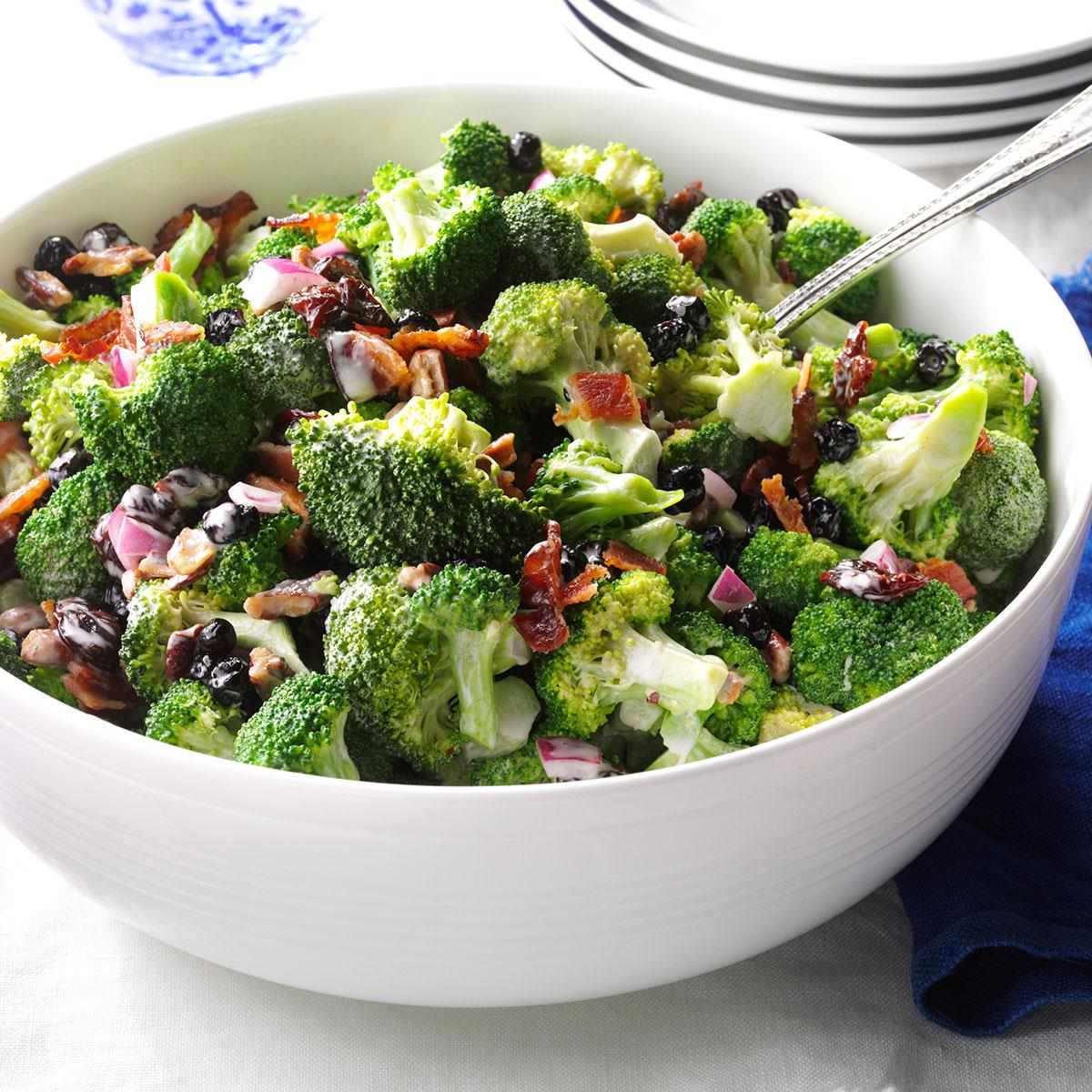 bacon and broccoli salad recipe taste of home