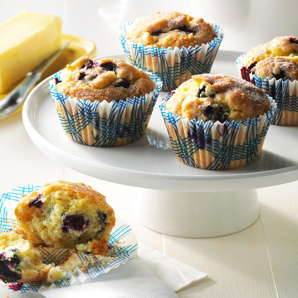 Aunt Betty S Blueberry Muffins