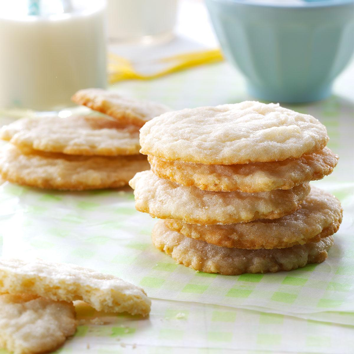 Lemon Oatmeal Sugar Cookies Recipe