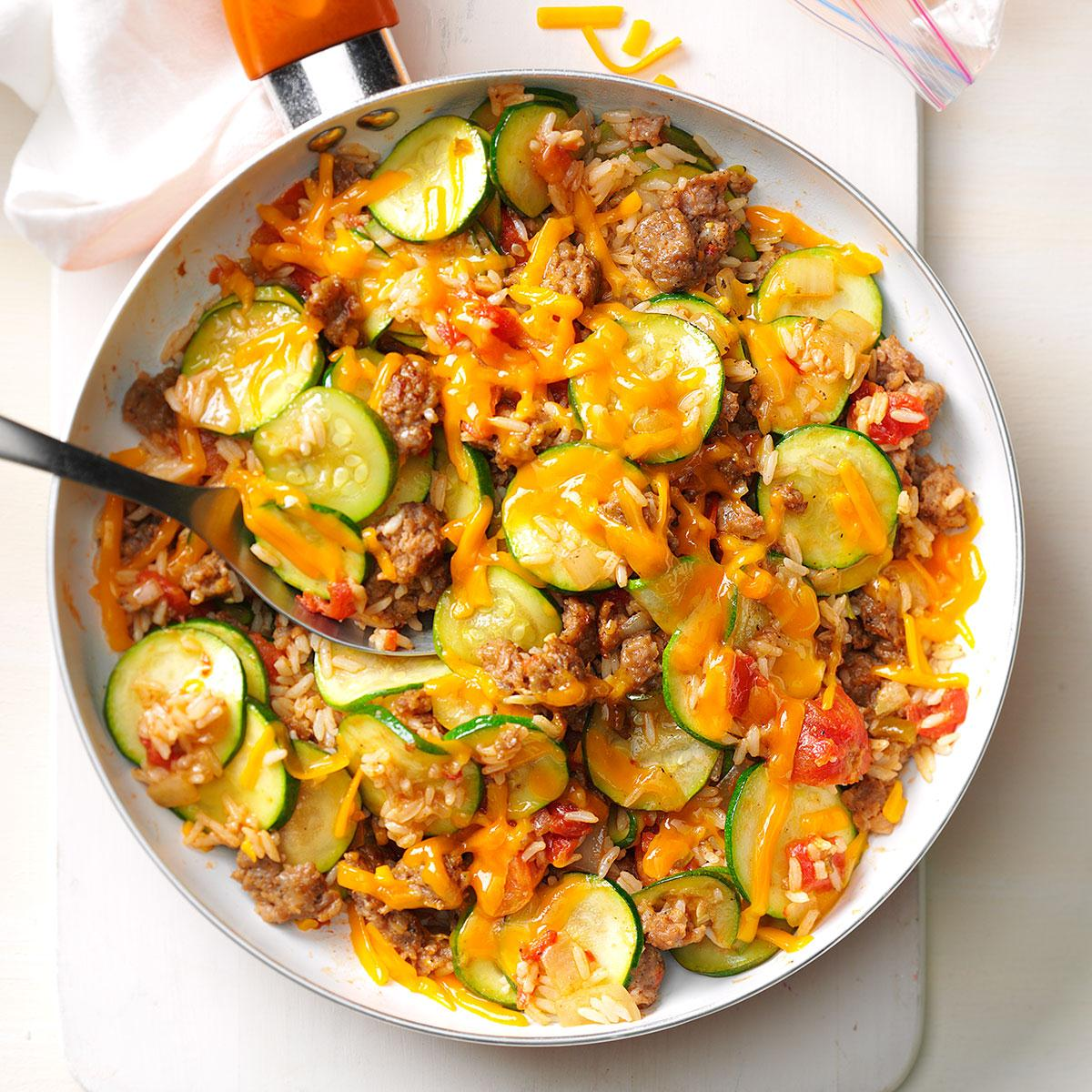 Pork with zucchini - a simple and tasty dish