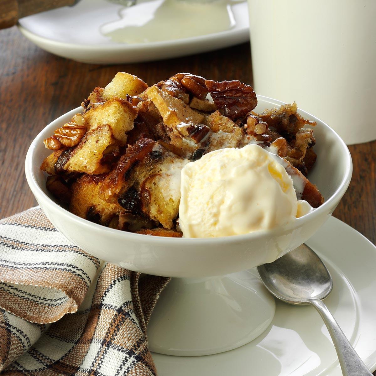 Apple Nut Bread Pudding Recipe Taste Of Home