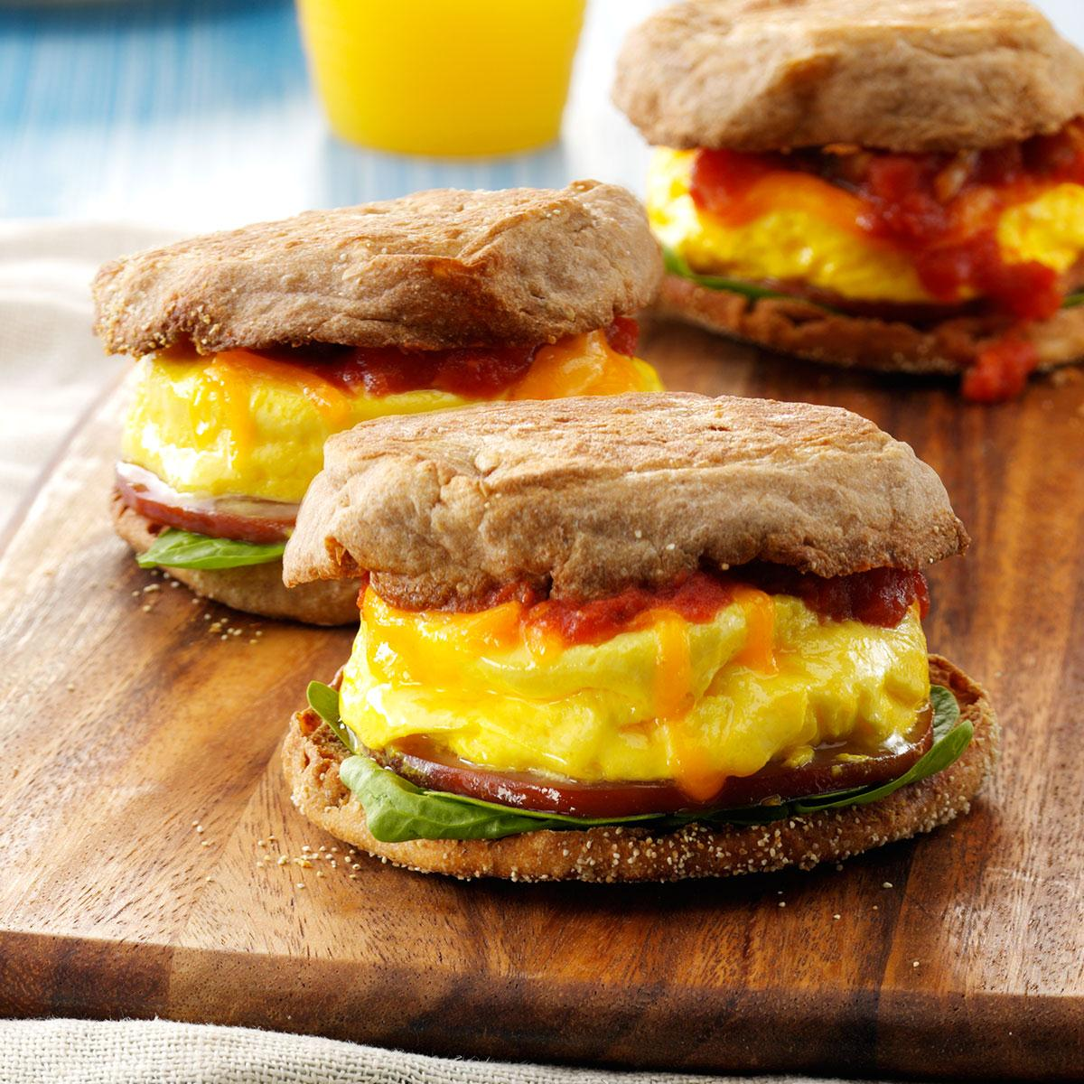 Image result for PROTEIN BREAKFAST SANDWICH