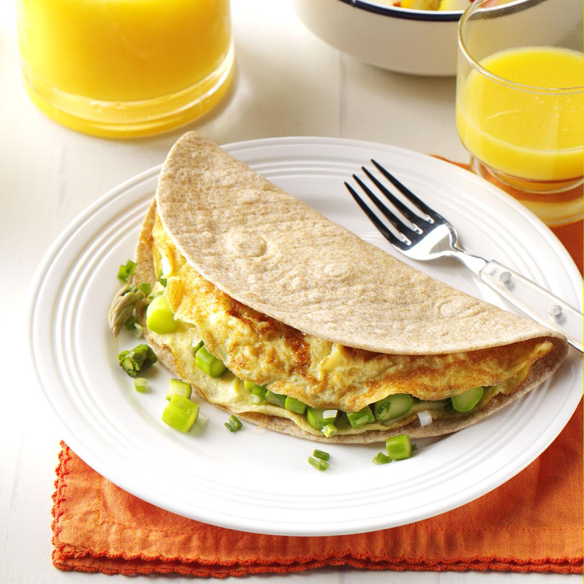 Watch Asparagus Omelet video