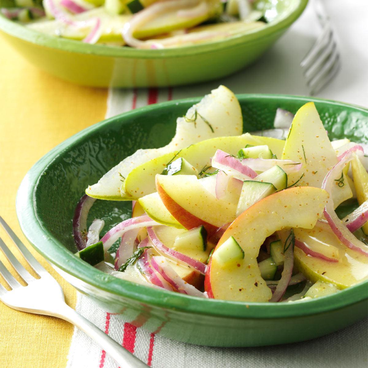 Fresh Apple Pear Salad