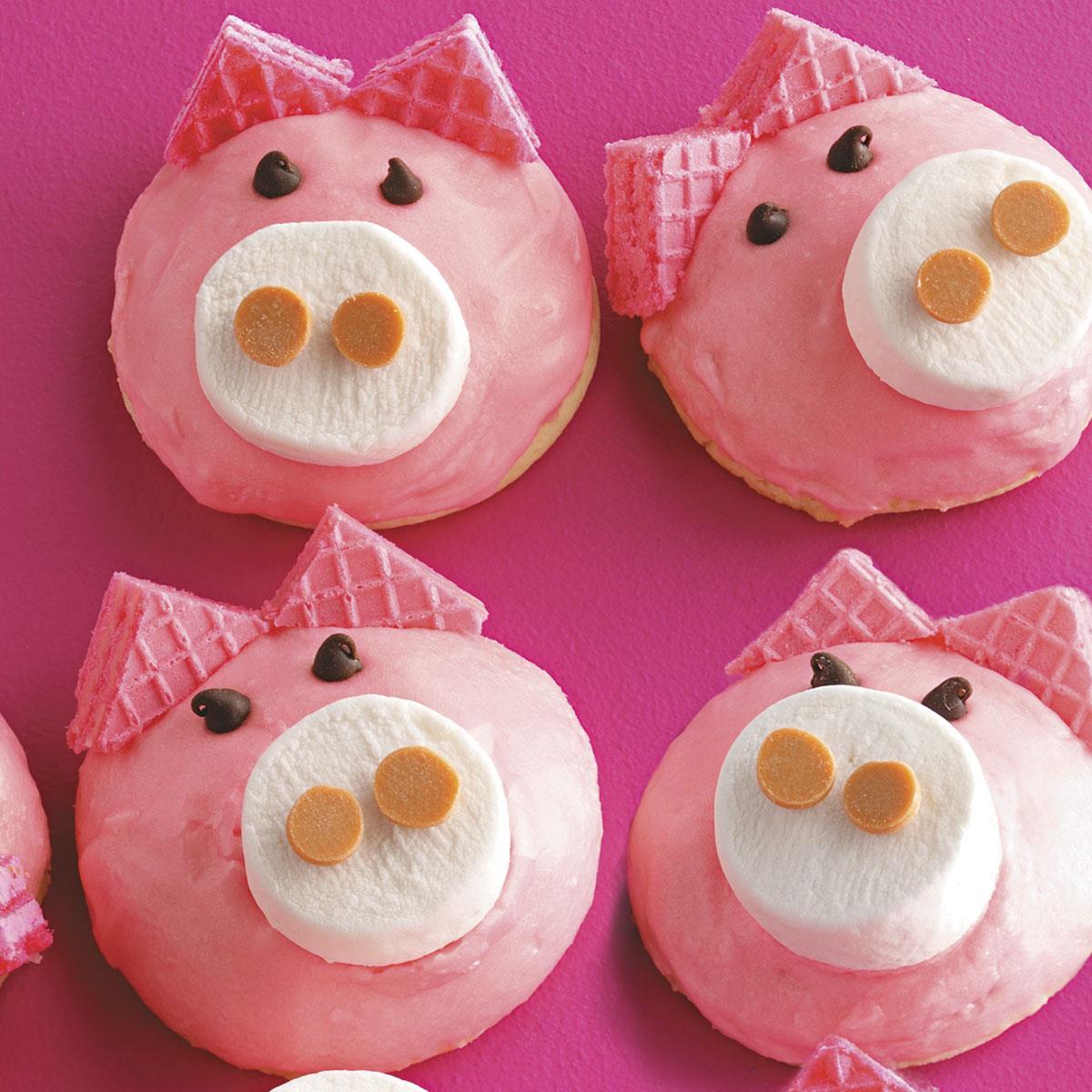 Cute Pig Cookies Recipe Taste Of Home