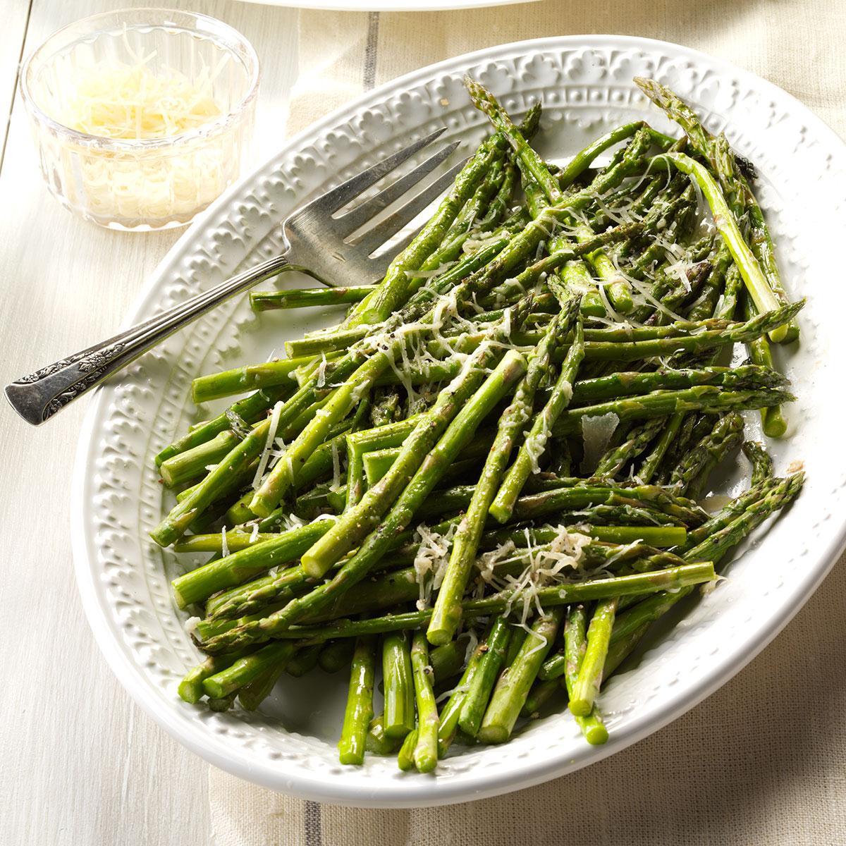 Parmesan asparagus recipe taste of home forumfinder Image collections